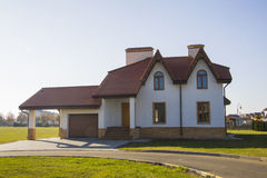 Villa for rent Royalty Free Stock Photo