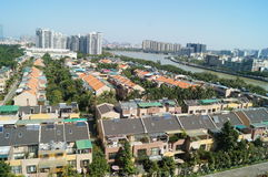 Villa residential area Stock Photography