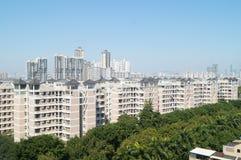 Villa residential area Stock Image