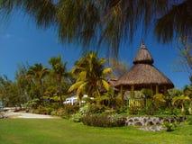 Villa, in resort again Stock Image