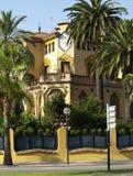 Villa in resort town Stock Image