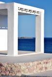Villa in Rhodos Stock Afbeelding