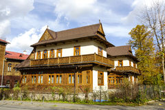 Villa Rialto in Zakopane, Poland Stock Photos