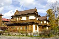Villa Rialto in Zakopane, Poland Stock Photos