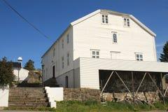 Villa of a rich  Lofoten's fisherman Royalty Free Stock Photo