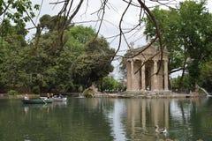 Villa Roma borghese Italia del parco fotografia stock libera da diritti