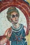 villa romaine de la Sicile de mosaïque Photos stock