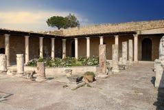 Villa romana Fotografia Stock Libera da Diritti