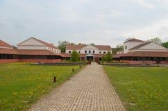 Villa romana Immagini Stock Libere da Diritti