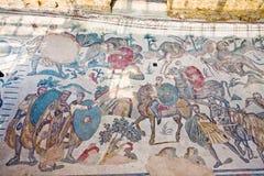 Villa Romana del Casale, Sicily Stock Images
