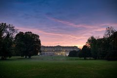 Villa royale de Monza photographie stock libre de droits