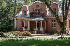 Villa Rozana in Naleczow, Poland Royalty Free Stock Image