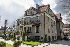 Villa Roztoka in Zakopane Royalty Free Stock Photography