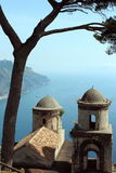 Villa Rufalo in Ravello, Amalfi Coast Stock Photo