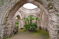 Villa Rufolo Ravello Amalfi Coast italy Royalty Free Stock Photo