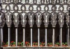 Villa Rufolo, Ravello, Amalfi Coast, Italy stock photo