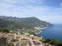 Villa Rufolo in Ravello, Amalfi Coast, Italy. Lion Stock Photography