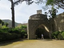 Villa Rufolo in Ravello, Amalfi Coast, Italy. Lion Stock Images