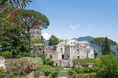 Villa Rufolo in Ravello, Amalfi Coast, Italy Royalty Free Stock Photos
