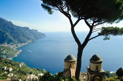 Villa Rufolo in Ravello, Italy. Stock Images