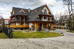 Villa Rys in Zakopane Stock Photography
