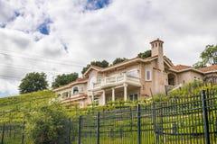 Villa in Süd-San- Francisco Baybereich, Kalifornien stockbild