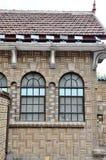Villa's corner. Scandinavian-style Norwegian-style villa in shanghai Stock Photo