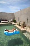 Villa Saada royalty-vrije stock fotografie