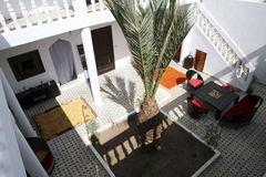Villa Saada arkivbilder