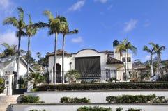 Villa in San Diego lizenzfreies stockfoto