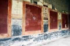 Villa san marco wall Stock Image