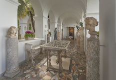 Villa San Michele in Anacapri Royalty Free Stock Photography