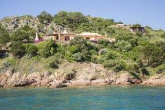 Villa in Sardinige, Italië Royalty-vrije Stock Afbeelding
