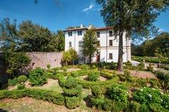 Villa Savorelli, début du 18ème siècle Sutri, Italie image libre de droits