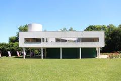 Villa Savoye royalty-vrije stock fotografie