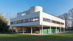 Villa Savoye at Poissy Royalty Free Stock Photography