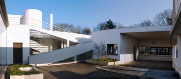 Villa Savoye at Poissy near Paris Royalty Free Stock Photography