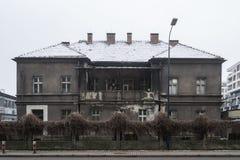 Villa Schindler in Krakau - Polen royalty-vrije stock foto's