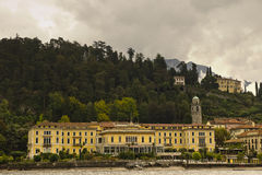 Villa Serbelloni and Bellagio from Lake Como, Italy Royalty Free Stock Image