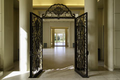 Villa Serralves interior. Interior view of the Villa Serralves in Porto, Portugal royalty free stock photos