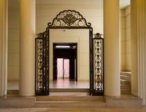 Villa Serralves interior. Interior view of the Villa Serralves in Porto, Portugal stock image