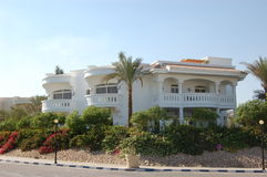 Villa, Sharm el Sheikh, Egypt. Villa, Sharm el Sheikh region, Egypt Royalty Free Stock Photography