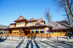Villa Slimak  in Zakopane, formerly Zoska Royalty Free Stock Image