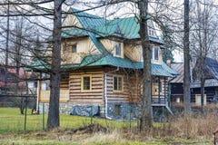 Villa Slimakowka dans Zakopane Photographie stock