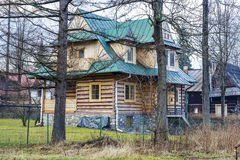 Villa Slimakowka in Zakopane Stock Photography