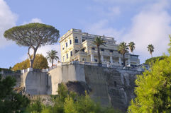 Villa in Sorrento Royalty Free Stock Photography