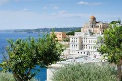 Villa splendide sur la côte italienne photographie stock libre de droits