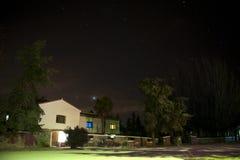 Villa with stars Stock Photos