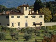 Villa storica a Firenze Fotografie Stock Libere da Diritti