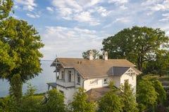 Villa storica in Sassnitz immagini stock libere da diritti